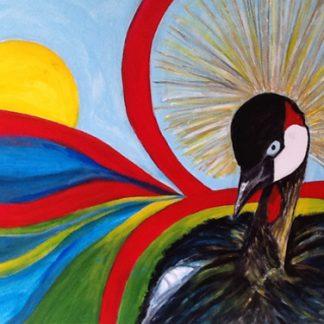 colourmove kroonkraanvogel