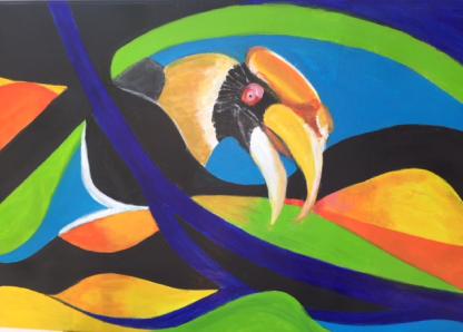 colourmove neushornvogel
