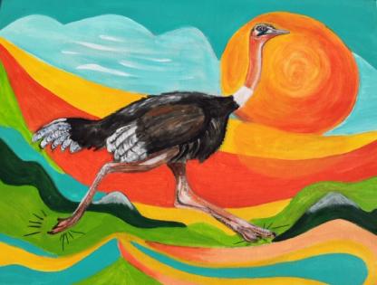 colourmove,nl struisvogel