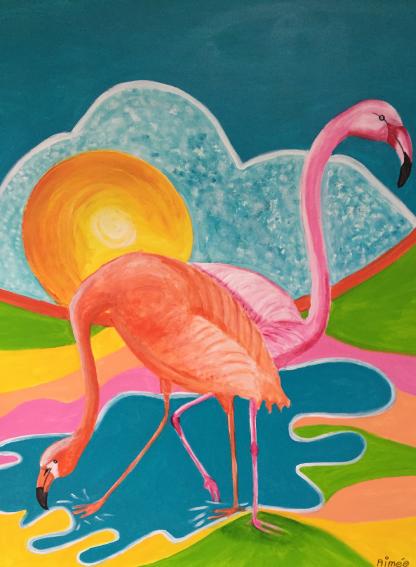 colourmove.nl flamingos